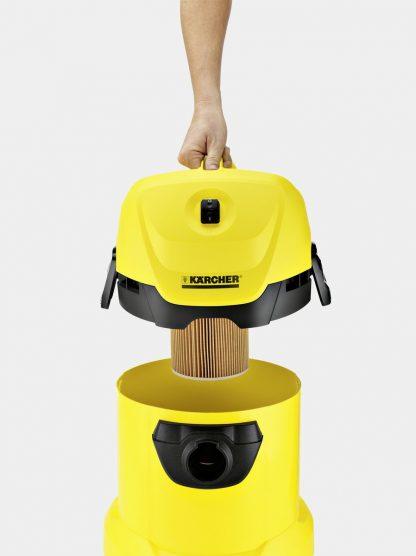 Хозяйственный пылесос Karcher WD 3 Car - Karcher - https://karchershop.kz
