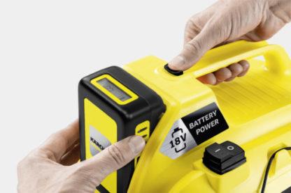 Хозяйственный пылесос Karcher WD 1 Compact Battery Set