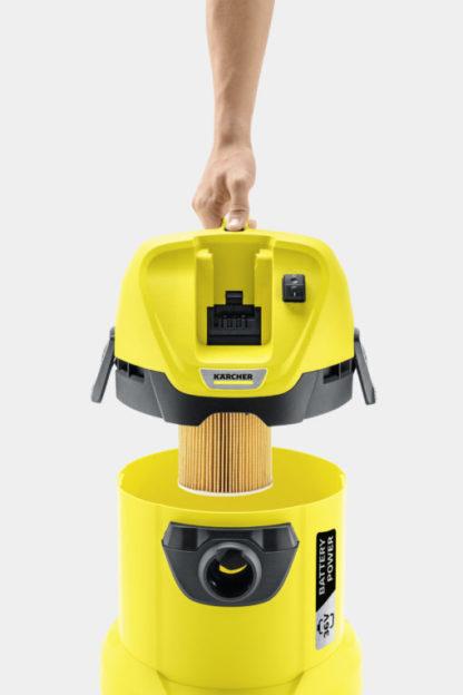 Хозяйственный пылесос Karcher WD 3 Battery Set - Karcher - https://karchershop.kz